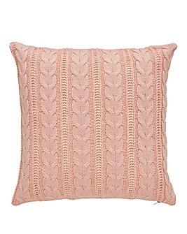 Cascade Knitted Cushion