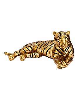 Gold Tiger Ornament