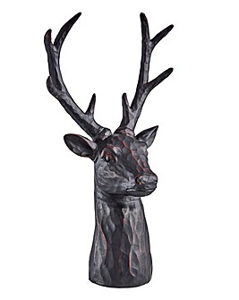 Black Stag Head