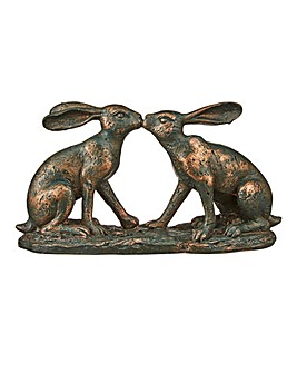 Bronze Kissing Hare