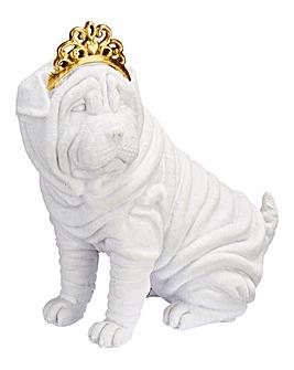 Sharpei Wrinkle Dog Figurine