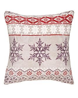 Fairisle Fleece Cushion