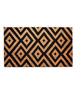 Diamond Printed Coir Doormat