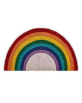 Rainbow Coir Doormat