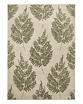 Claudia Leaf Design Rug Large