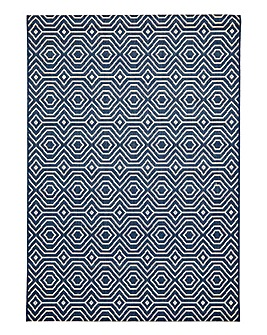 Sophia Linea Patterned Rug Large
