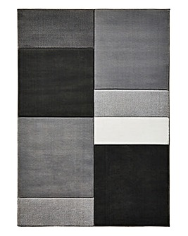 Block Square Rug Large