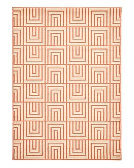 Ambroise Grid Patterned Rug