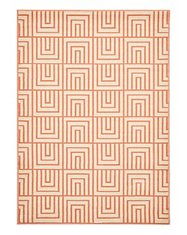 Ambroise Grid Patterned Rug