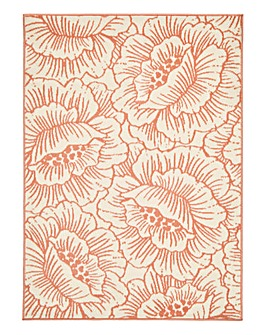 Kealy Retro Flower Rug