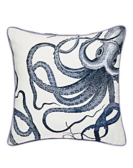 Octopus Printed Cushion
