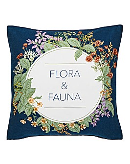 Flora & Fauna Cushion