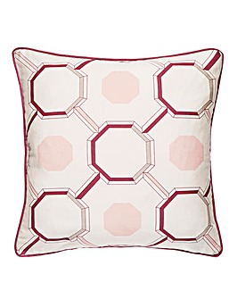 Trellis Chain Satin Cushion