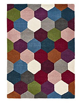 Farah Hexagon Rug