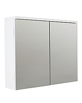 Double Mirror Doors Cabinet