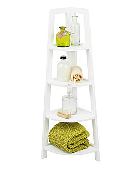 4 Tier Corner Shelving Unit