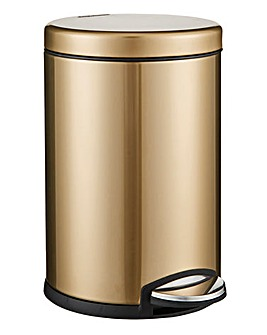 4.5L Brass Stainless Bin