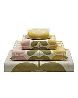 Orla Kiely Summer Flower Stem Towels