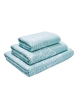Madrid Diamond Towel Range
