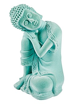 Flocked Buddha Ornament