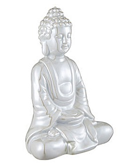 Pearlised Buddha Ornament