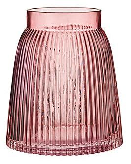 Blush Textured Vase