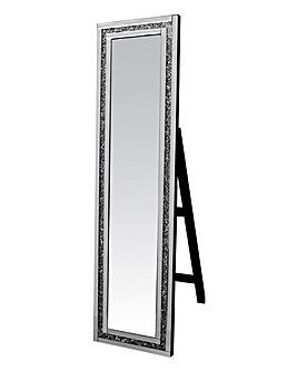 Gatsby Crystal Floor Standing Mirror