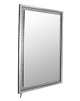 LED Light Up Glam Mirror