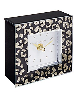Wild Side Square Clock