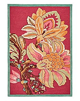 Joe Browns Statement Floral Wool Rug L