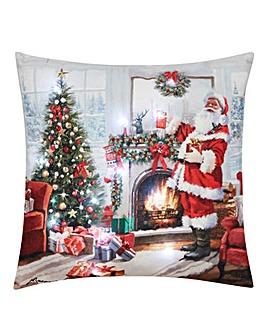 Santa LED Cushion