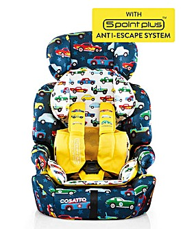 Cosatto Zoomi 123 (5 point plus) Car Seat - Rev Up