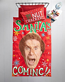 Elf Santa Single Panel Duvet