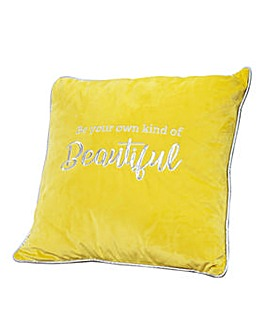 Be Your Own Kind of Beautiful Cushion