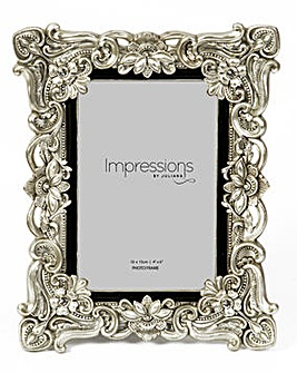 Impressions Antique Floral Frame