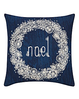 Noel Wreath Cushion