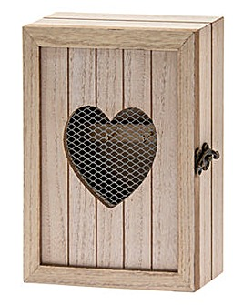 Country Hearts Key Cabinet