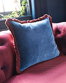 Joe Browns Fringe Velvet Cushion