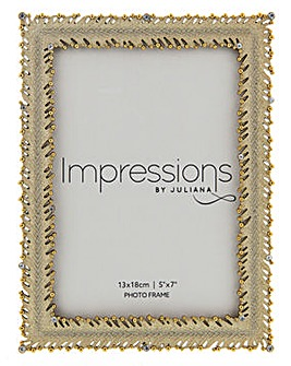 Impressions Gold Frame with Crystal
