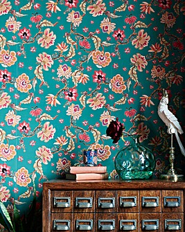 Joe Browns Floral Repeat Wallpaper