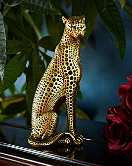 Joe Browns Standing Leopard Ornament