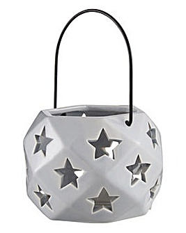 Stars Tealight Holder with Handle