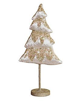 Free Standing Velvet Christmas Tree