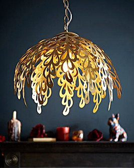 Joe Browns Exotic Leaf Pendant Light