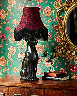 Joe Browns Panther Base Table Lamp