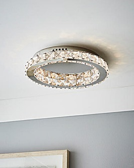 Leah Halo Fitted Ceiling Light