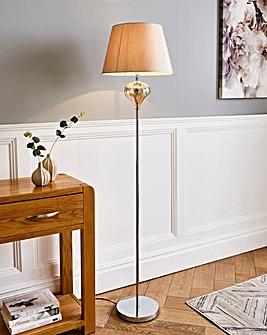 Luton Glass Floor Lamp