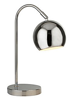 Chrome Arc Table Lamp