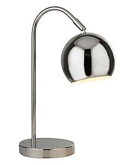 Chrome Arc Table Lamp