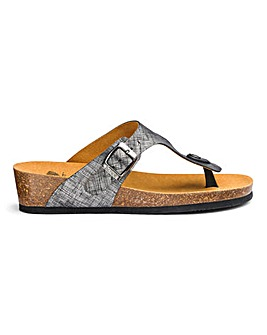 Scholl Gandia Toe Post Sandals